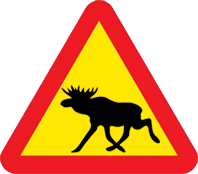 Warning for elk